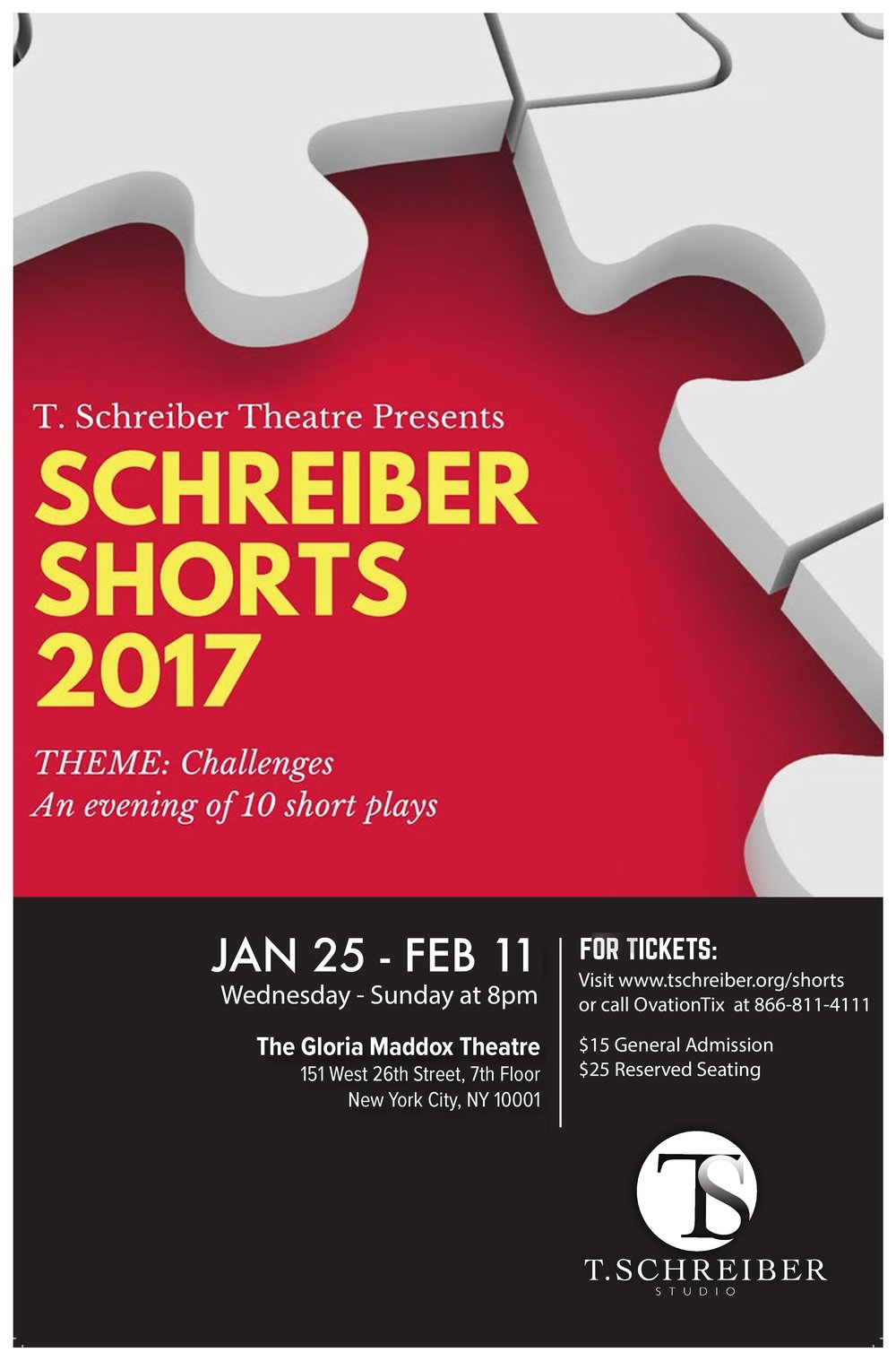 Role: Producer/Director Venue: T. Schreiber Theatre