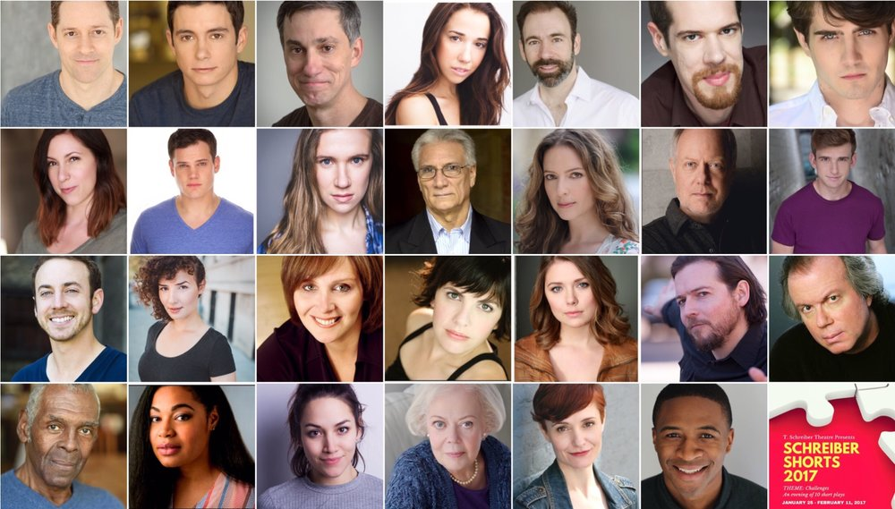 Cast of 4th Annual Schreiber Shorts