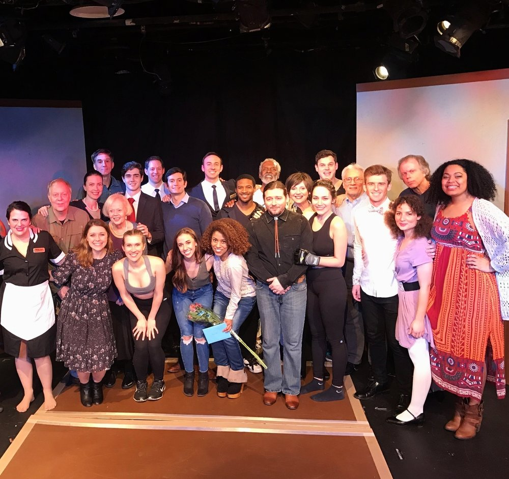 Closing Night of 4th Annual Schreiber Shorts with Cast