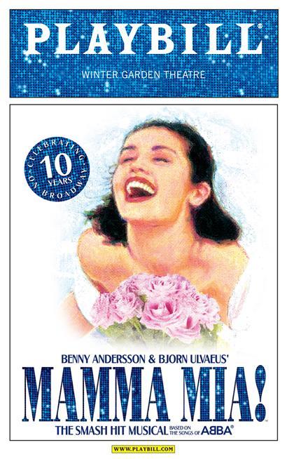 10th Year Anniversary Playbill