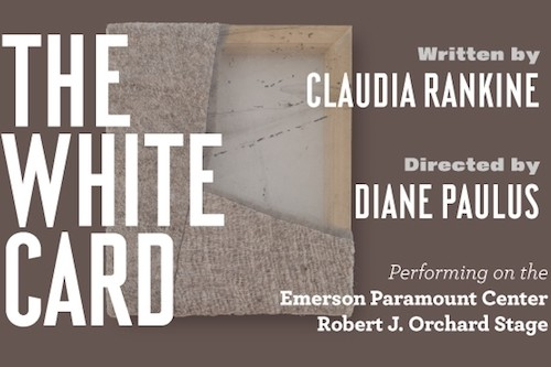 Claudia Rankine, The White Card, poster.jpg