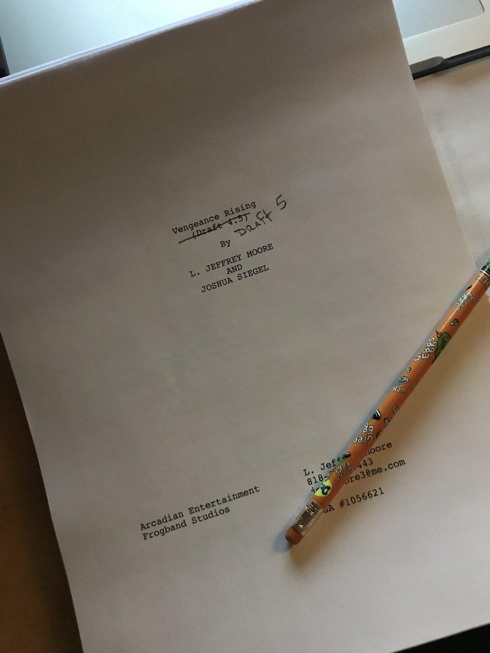 Vengeance Rising Script