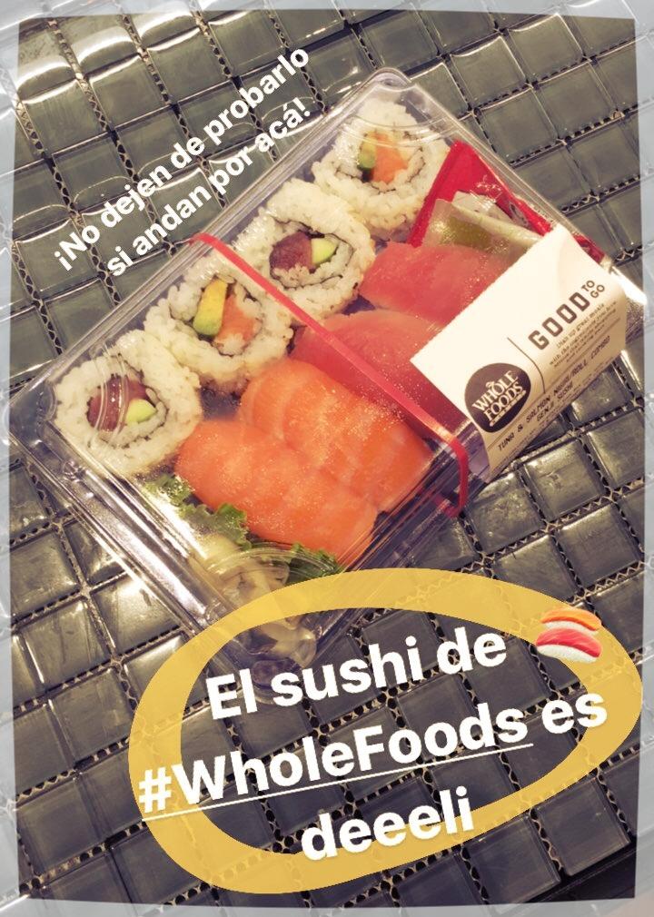 Whole Foods: Sushi