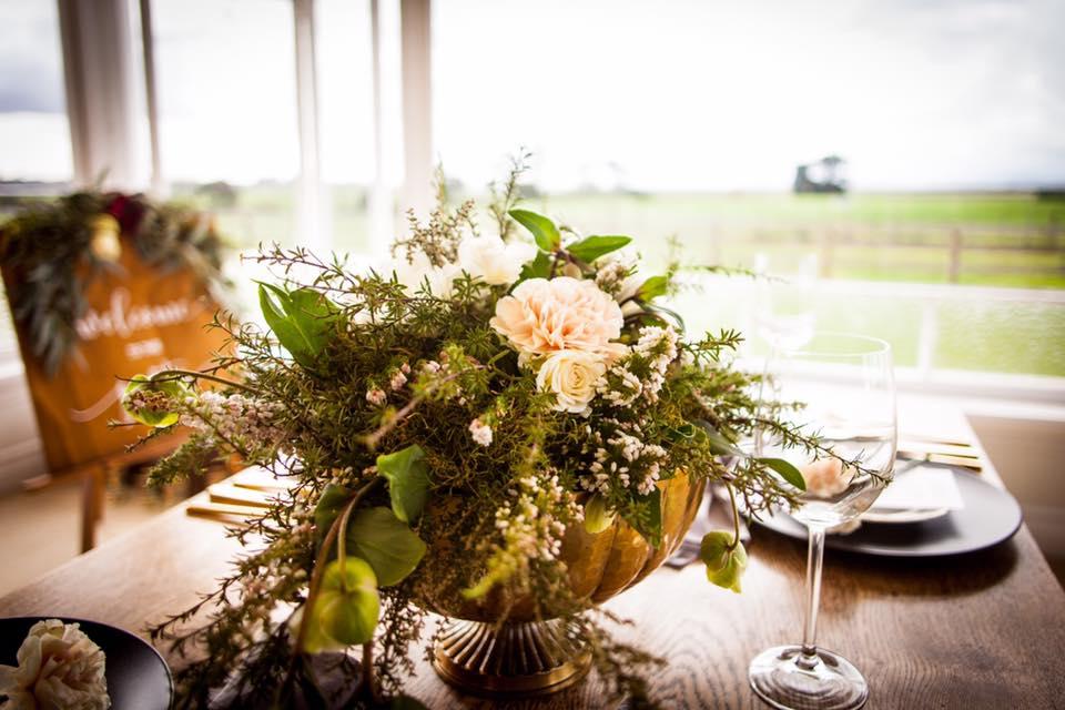 One poppy wedding flowers dancing blossom studio one poppy wedding flowers bridal table flowersg mightylinksfo