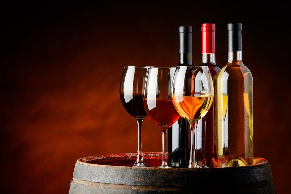 Drycker till maten - Ett urval av vad vi har att erbjuda.