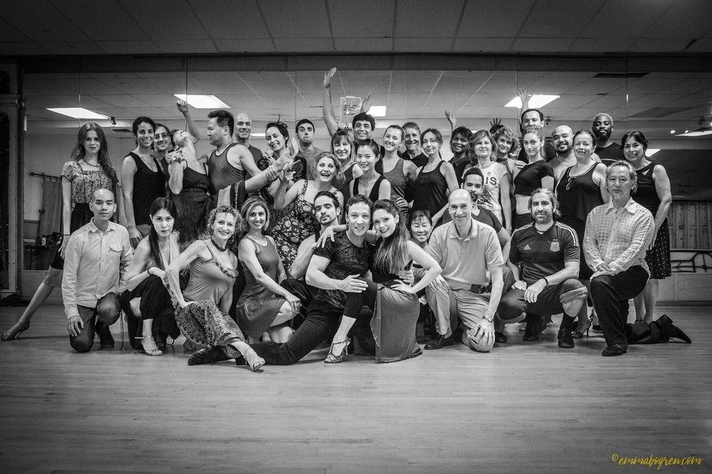 LA Tango Academy Workshop