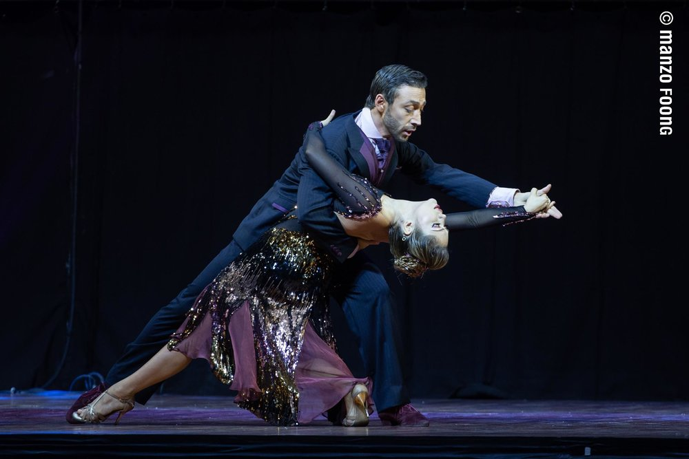 WEDDING DANCE - Yaisuri and John Hernan will help to walk through your first dance as husband and wife. Their love for each other and their love for tango will be your best guide.