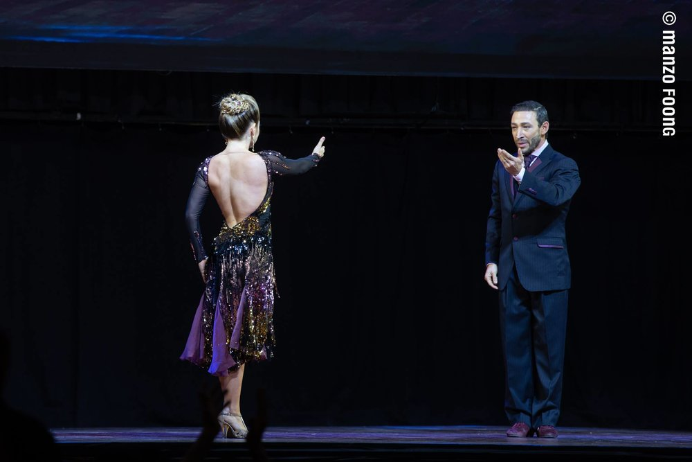 TANGO COACHING - Yaisuri and John Hernan will help you to shape your skills to serve you better for tango competitions on tango salon and stage.