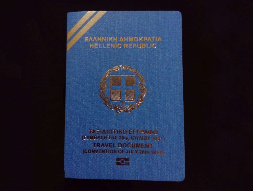 Providing very much needed information about how to get a travel document in Greece -