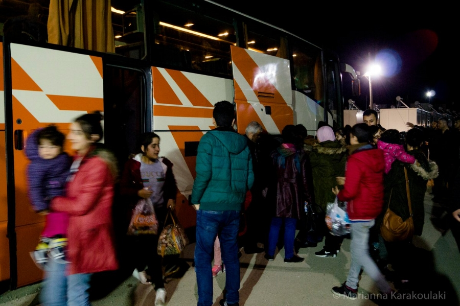 Emergency response for new arrivals in Thessaloniki -