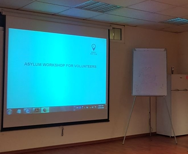 Asylum workshop for long-term volunteers -