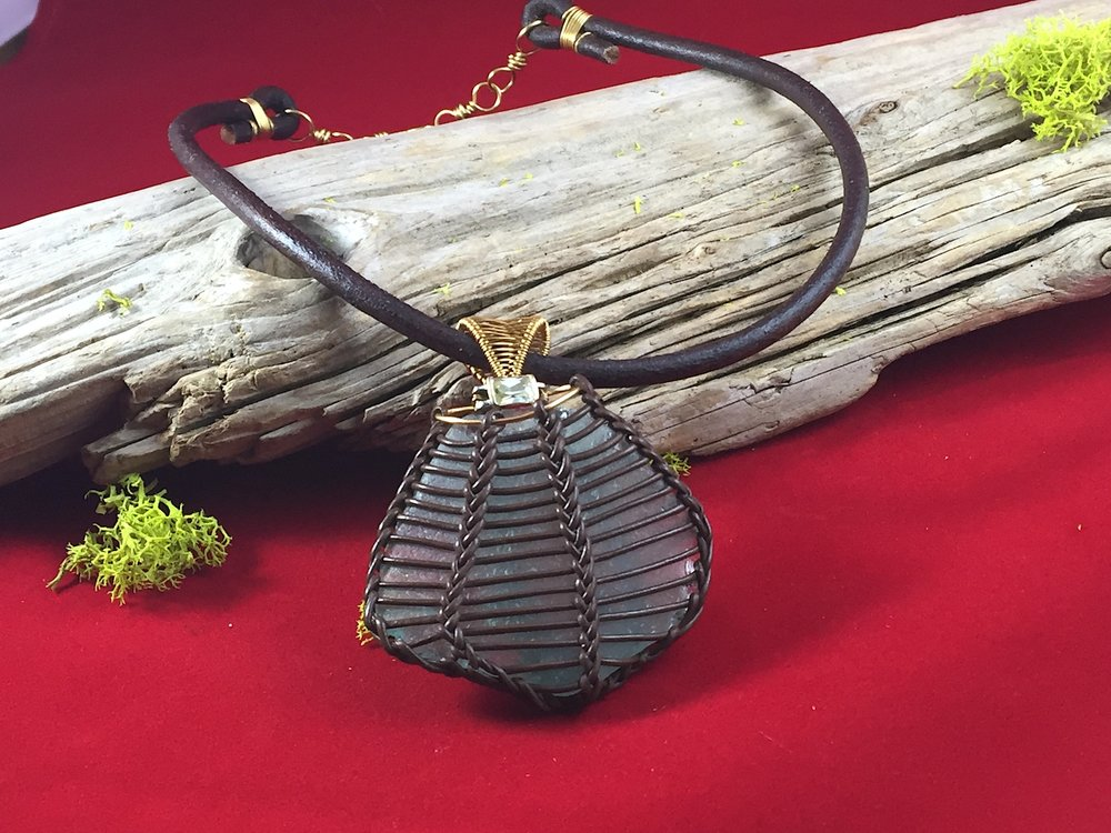 Leather Scallop