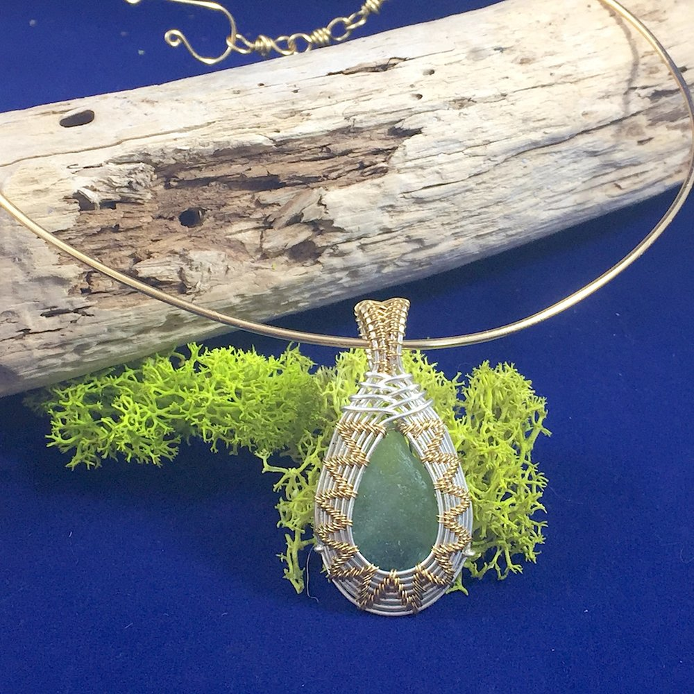Sea Glass Cameo