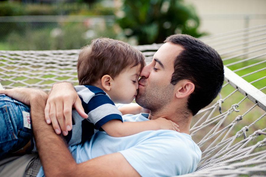 Seth & daddy