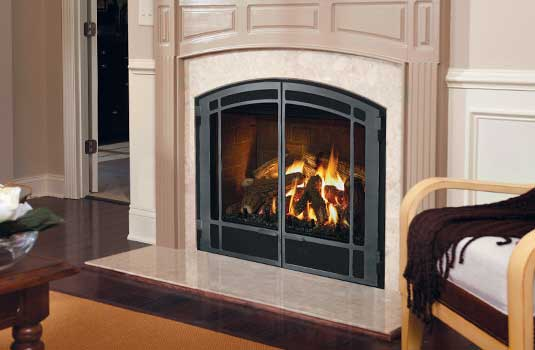Mendota DXV Gas Fireplace Series - The Original Design in Gas Fireplaces