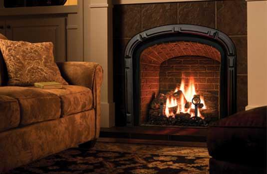 Mendota Greenbriar Gas Fireplace - Make a statement without uttering a phrase