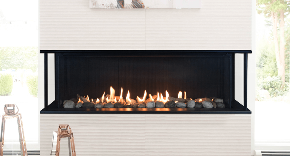 LX2 3-Sided Series Zero Clearance Fireplaces - The LX2's outstanding radiant performance will heat any living space - without compromise.