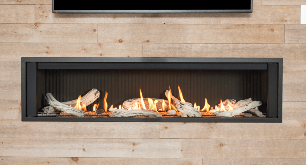 L3 Linear Series Zero Clearance Fireplaces - The L3 is 66 ¼
