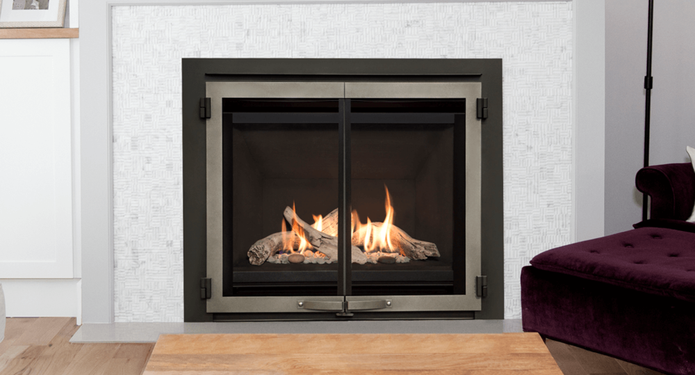 H5 Series Zero Clearance Fireplaces - Flexible venting options and slim engine depth position the H5 as a versatile fireplace upgrade.