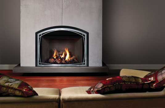 FullView Décor Gas Fireplace Insert - Reflect your style and design