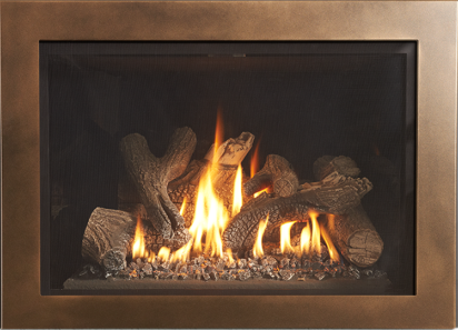 GI 635 DV IPI Newcastle Gas Insert - The GI 635 is the perfect blend of modern cast iron and traditional charm