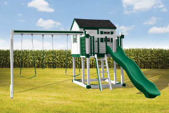 C-1 Hideout Playset - Price: $4,369 Free Installation!