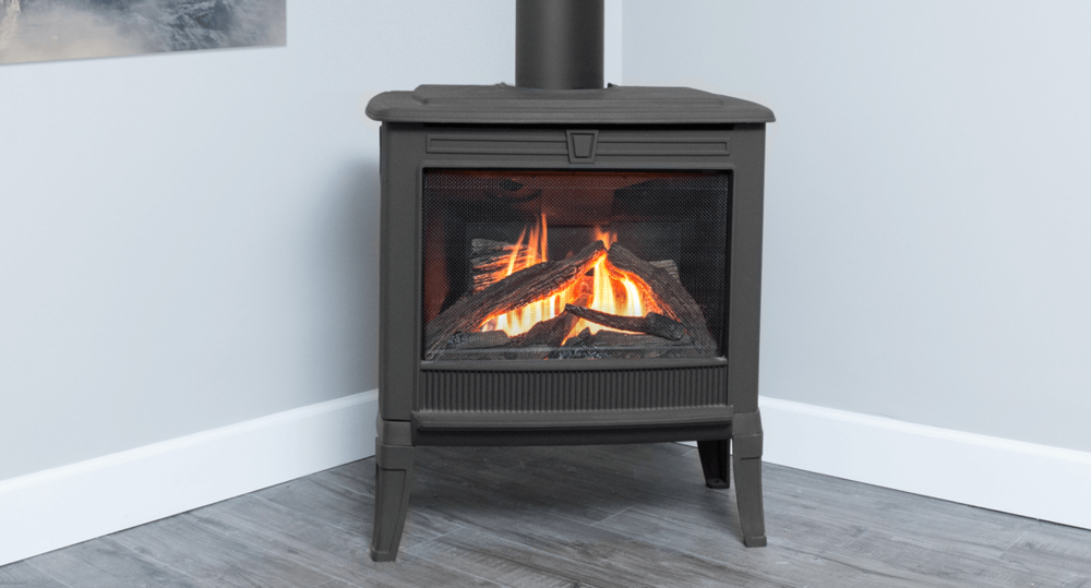 Madrona Freestanding Gas Stove Series - The Madrona supplies a flow of radiant heat and naturally convected warm air.