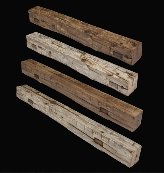 Mortise Barn Beam Series -