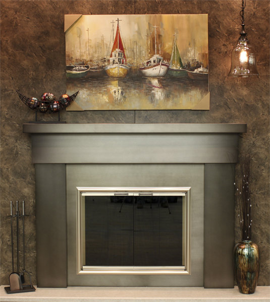 Traditional Mantel -