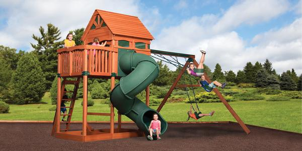 Titan Treehouse Jumbo 3 - Price: $5,599 FREE Installation!