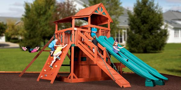 Titan Treehouse Jumbo 4 - Price: $7,999 FREE Installation!