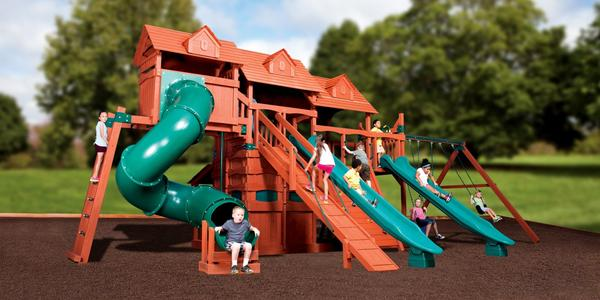 Titan Treehouse Jumbo 5 - Price: $13,999 FREE Installation!