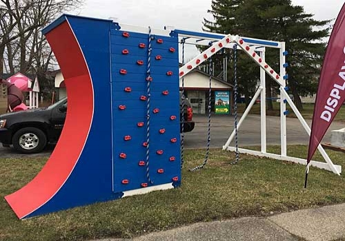 Ninja Obstacle Course by Swing Kingdom -