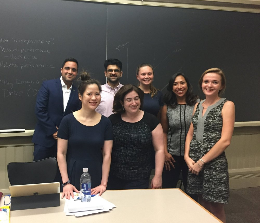 My students dressed for their mock job interviews at the Harvard Summer School