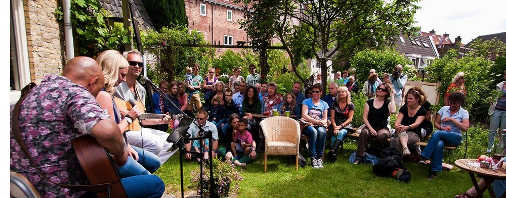 Struinen in de Tuinen Utrecht Campfire