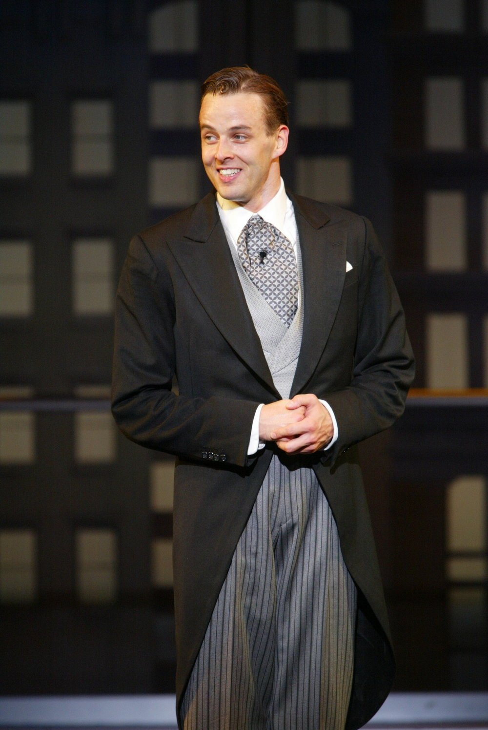 Noah as Lucky Garnett,  Never Gonna Dance,  Broadhurst Theatre.  Directed by Michael Grief, Choreographed by Jerry Mitchell.