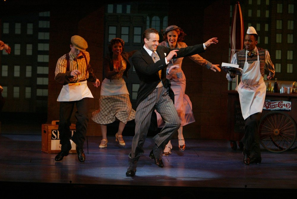 Noah Racey and Company,  Never Gonna Dance,  Broadhurst Theatre.  Directed by Michael Grief, Choreographed by Jerry Mitchell.