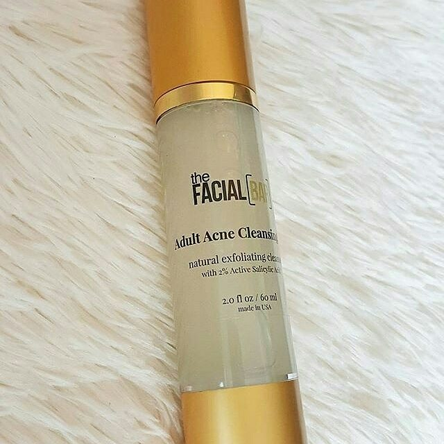 @indiemakeup4coloredgirls Using our Adult Acne Cleansing Gel