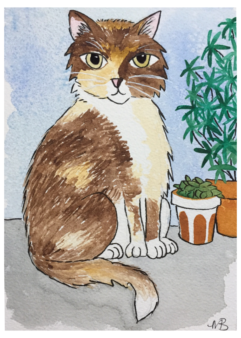 Pet Portraits! - All of the above works the same for the pets! Detailed or simple background, posed or in action, realistic or fantasy, the possibilities are endless!