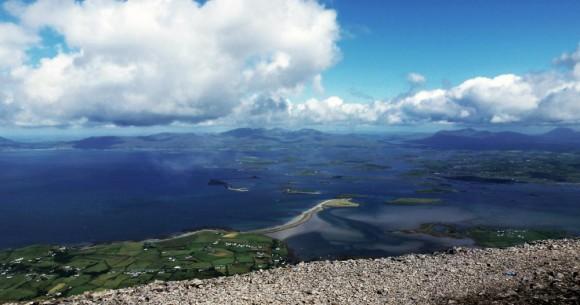 Clew Bay, County Mayo, Ireland.  Photo: Destination Westport