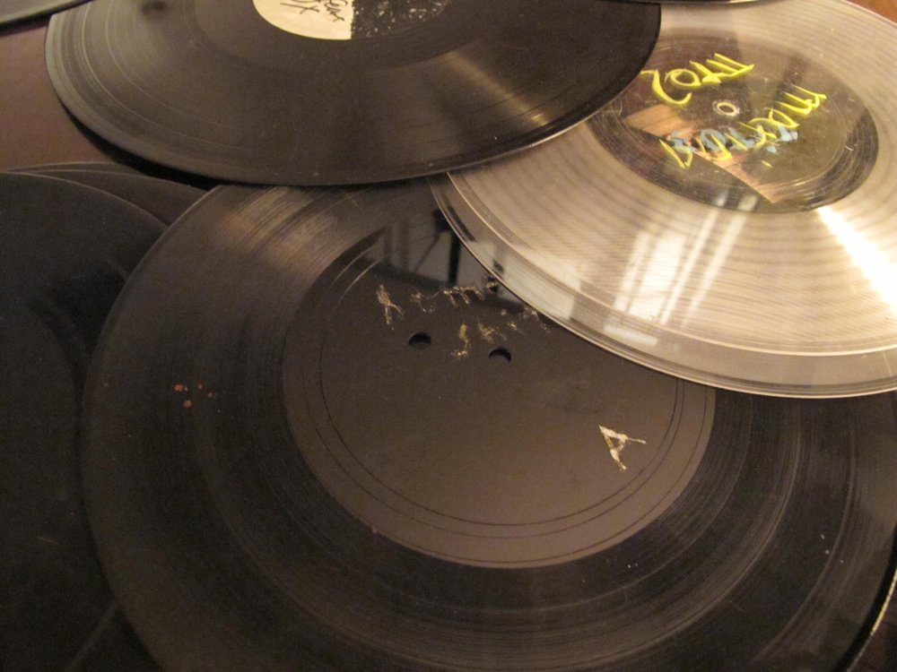 Turn of My Century: Dub Plates and Test Pressings, 1997-2014 (2015), installation view, Miller Gallery, Carnegie Mellon University, Pittsburgh
