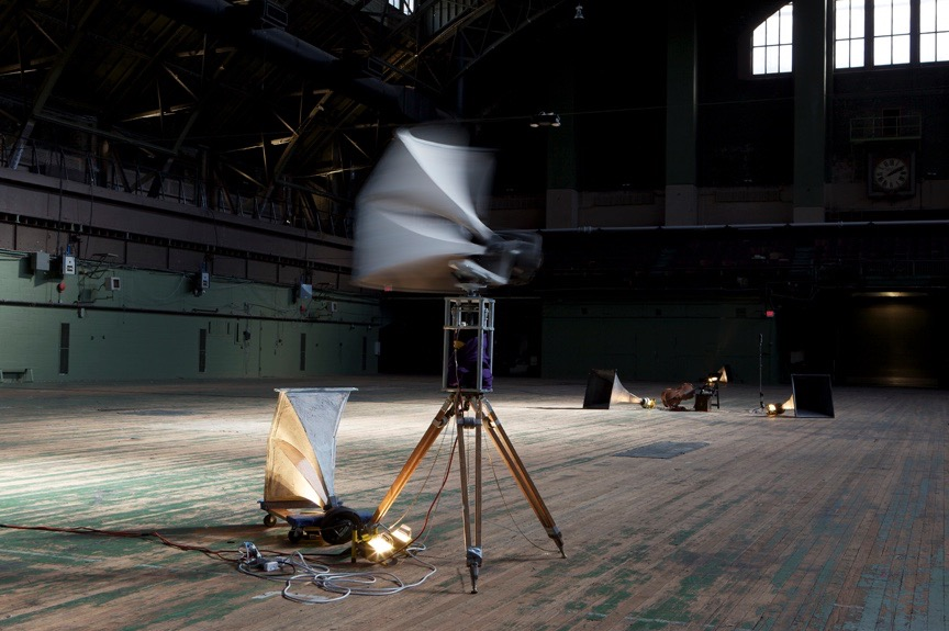 <i>P.A.</i> (installation view) at Park Avenue Armory, New York, 2009