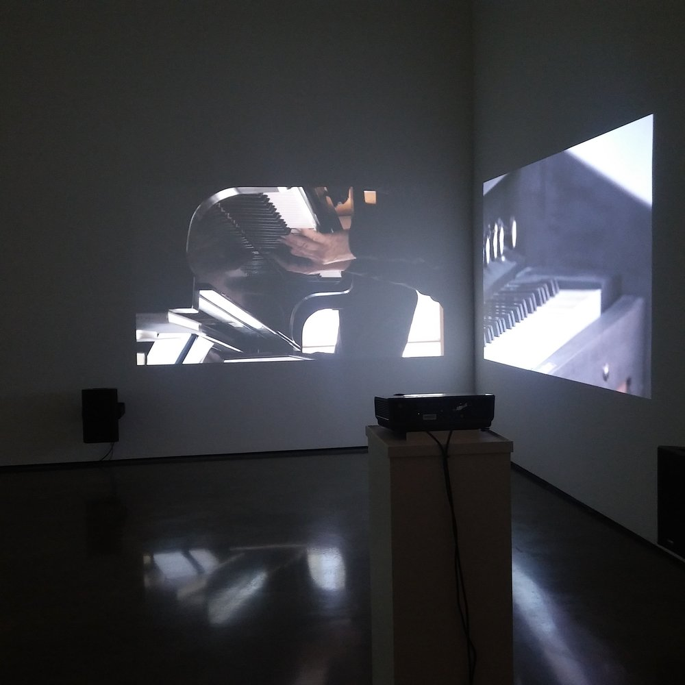 "Six Inversions (After Arnold Schoenberg) , installation view from exhibition ""Marina Rosenfeld: After Notation,"" Bard Center for Curatorial Studies, 2017"