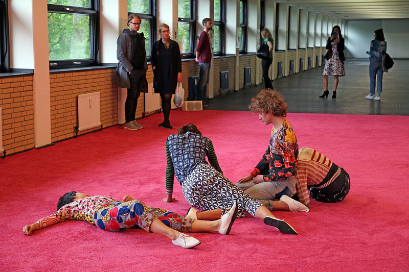 STAGING (installation view), documenta 14, Kassel, 2017
