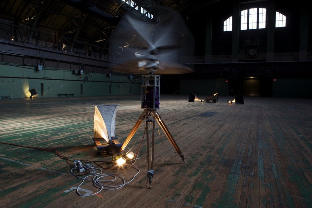 P.A. (installation view), at Park Avenue Armory, New York, 2009