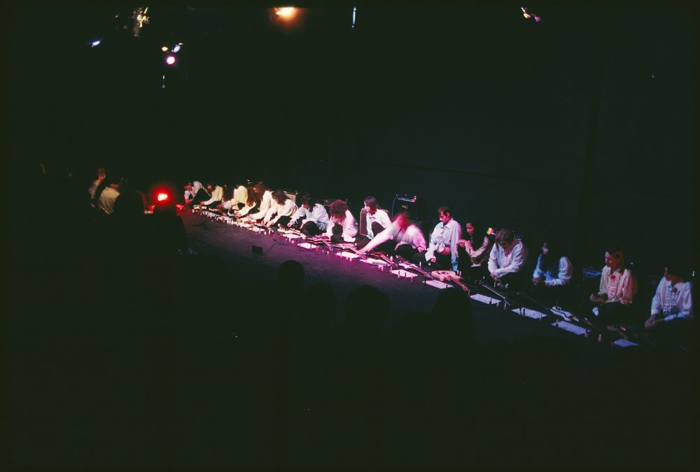 Sheer Frost Orchestra, performance view, Los Angeles Contemporary Exhibitions, Los Angeles, 1996