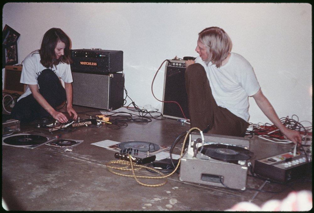 99 Luftballoons,  Marina Rosenfeld and Eric Erlandson, Los Angeles, circa 1995