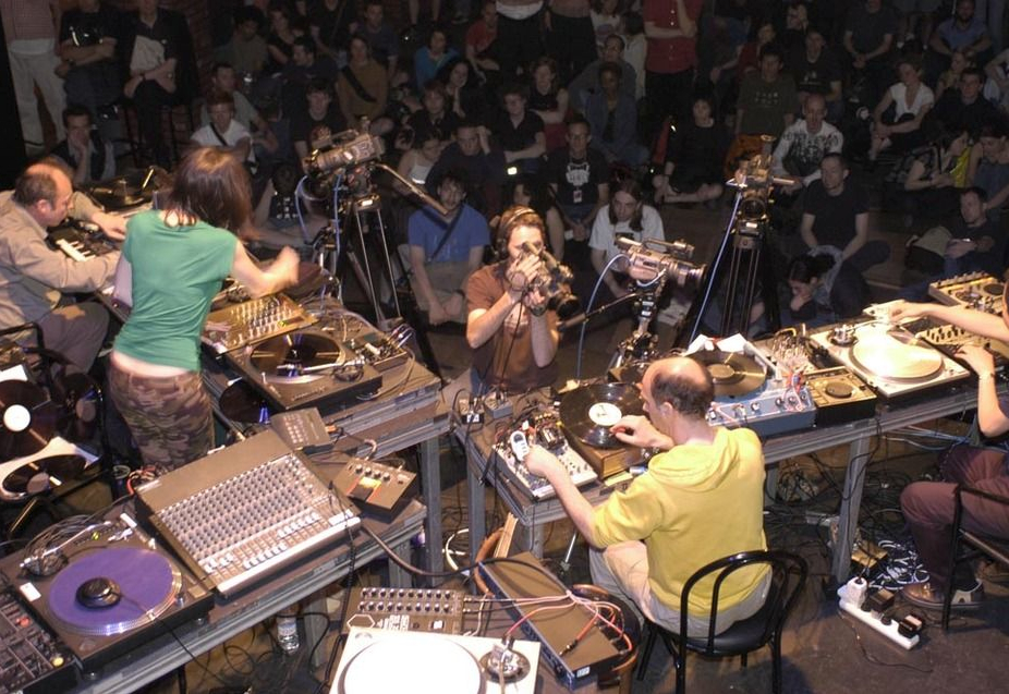 Philip Jeck,Marina Rosenfeld, Martin Tetrealt, Martin Ng, Mutek, Montreal, 2003
