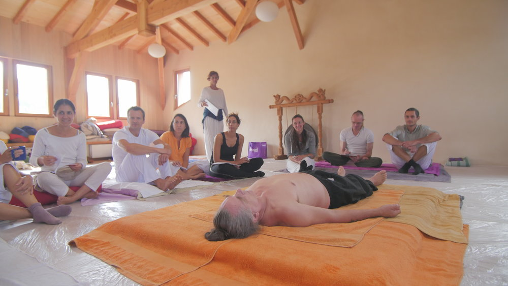 Démo massage Ayurvédique