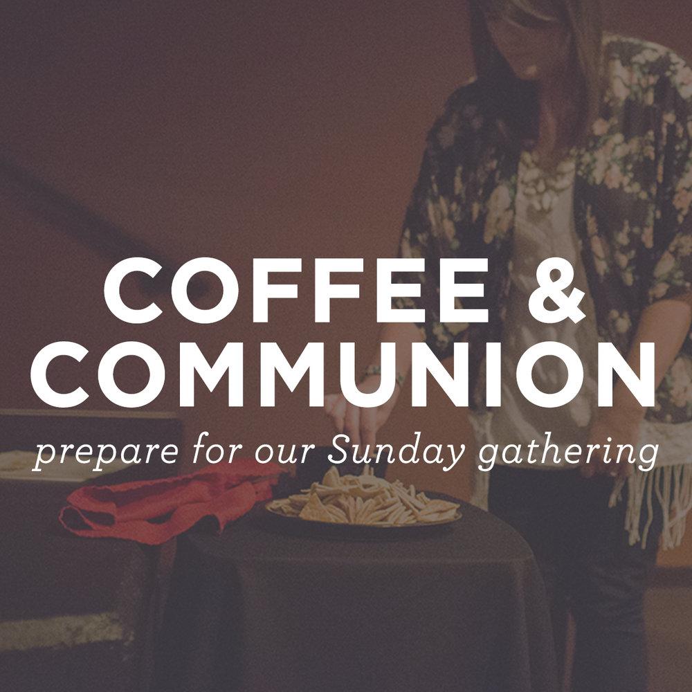 Coffee & Communion